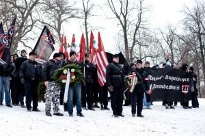 A Budapest, des néo-nazis célèbrent l'amitié germano-hongroise